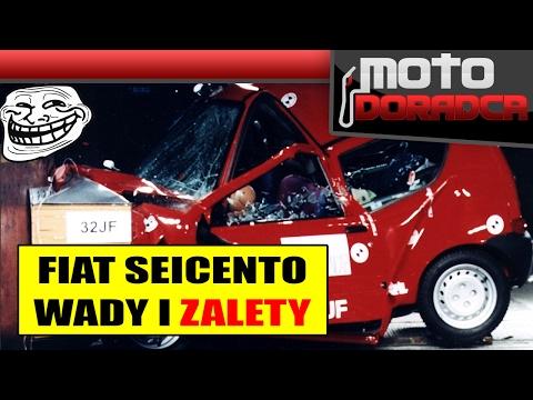 Fiat Seicento WADY i ZALETY 298 MOTO DORADCA