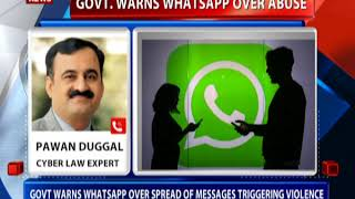 download free Govt warns WhatsApp over abuse