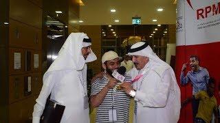 ابراهيم الفريان ومدني رحيمي وموقف مضحك جدا في دورة تبوك الدوليه لايفوتك