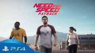 Need for Speed Payback | Official Story Trailer | PS4
