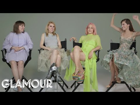 How Well Does the Cast of Girls Really Know Each Other Glamour