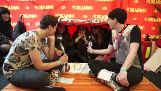 Haim inTENTerview At Reading With Dan & Phil