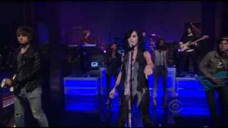 Katy Perry - Teenage Dream (Live David Letterman) HD