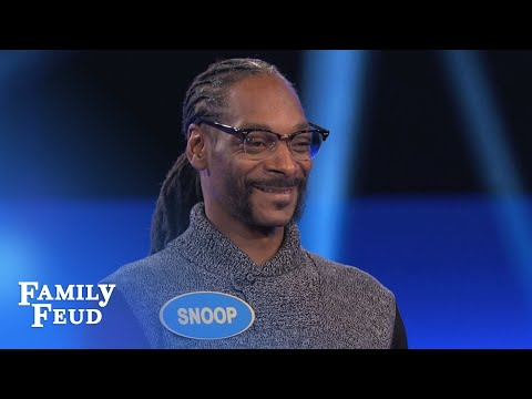 Snoop Dogg s CRAZY Fast Money Celebrity Family Feud OUTTAKE