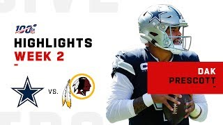 Dak Prescott Dominates Again w/ 3 TDs | NFL 2019 Highlights