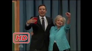 [Talk Shows]Beer Pong with Betty White and Jimmy Fallon