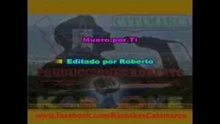 Dalila y La Re Pandilla   Muero por ti ( karaoke ) (PRODUCCIONES ROBERTO)