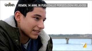 Remon, 14 anni, in fuga dalle persecuzioni religiose