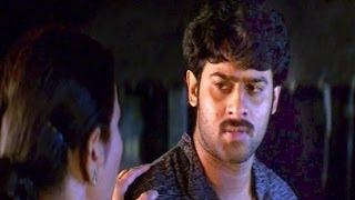 Pournami Sentiment Scenes - Prabhas Mother Ask Him To Go Away From Village - Prabhas