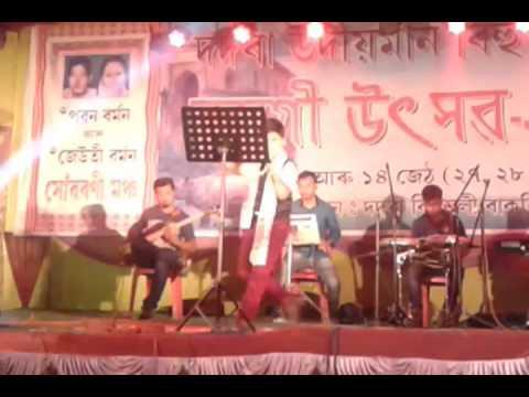 Assam's Super hit child singer Rubab Choudhary Haria daru ko pina sora,
