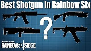 Best shotgun in Rainbow Six Siege?