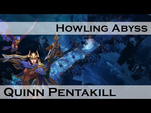 League of Legends: Aram, Quinn Pentakill, by Ancient Legion