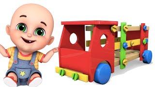 Surprise Eggs | Truck Toys for Kids | Surprise Eggs videos from Jugnu kids