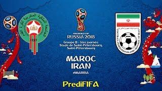 Maroc - Iran (Coupe du Monde de la FIFA Russie 2018)