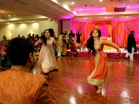 THE BEST PITHI DANCE EVER 2 OF 3 FARIHA & MALIK S WEDDING