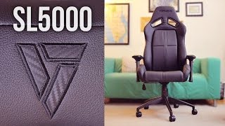 Vertagear SL5000 Gaming Chair Review - Stealth & comfortable design