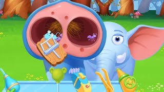 Jungle Doctor - Education Game for Kids - Children Learn how to Care Jungle Animals #1