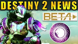Destiny 2 News: SENTINEL REVEAL, LEAKED MISSION, Beta Download Time, & More!