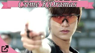 Top 10 Crime KDramas 2017 (All The Time)