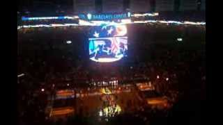 K. Michelle sings National Anthem (Nets-Heat 11.1.13)