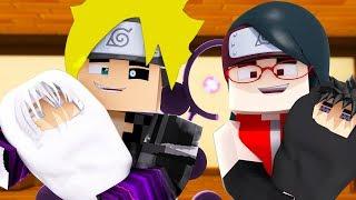 Minecraft: BORUTO #2 - NOVO FILHO DO BORUTO E SARADA