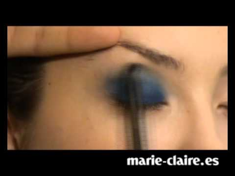 Ojos ahumados azules