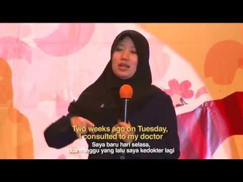 Alpha Spin Testimonial From Jakarta, Indonesia - Nita (Breast Cancer)