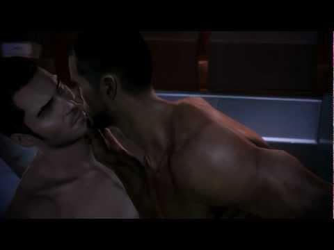 Mass Effect 3 Kaidan Gay Romance 15 Sex scene