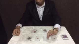 Giấc Mơ 4 Quân Át V1.0 - 4 Ace Card Trick V1.0 Hướng Dẫn www.hoanggiamagic.com