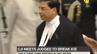 CJI meets 4 dissenting judges