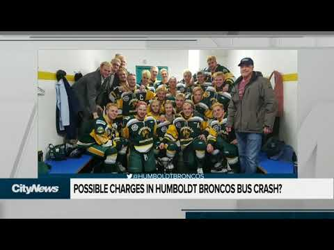 Charges possible in Humboldt Broncos bus crash