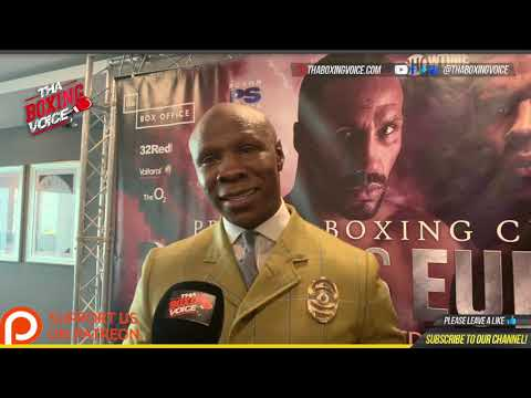 Xxx Mp4 Chris Eubank Sr Quot The DNA Is SPECIAL In Jr I Know His Drive Jr Will Push Degale Out The Fight 3gp Sex
