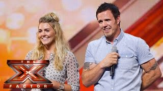 Preview: Nige and Kay take on Olly Murs hit | Auditions Week 4 | The X Factor UK 2015