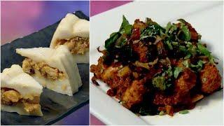 Dhe Ruchi I Ep 319 - Chemmeen chatti pathiri & Chettinad Chicken Roast I Mazhavil Manorama