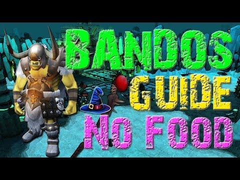 2016 RuneScape 2+M/hr Bandos Guide 70+ Kills/hr - NO FOOD