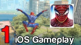 The Amazing Spider-Man iOS iPad iPhone Gameplay Part 1   WikiGameGuides