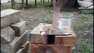 Thermite melting the iron