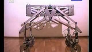 Wheel-legged mobile robot LegVan
