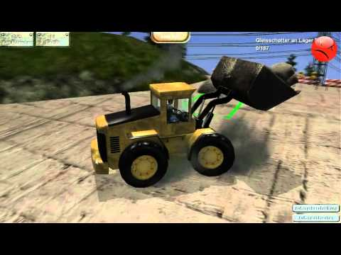 Steinbruch Simulator 2012 Gameplay german