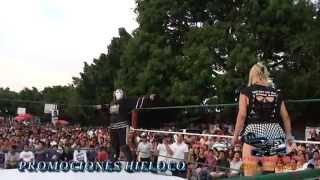 Ice Queen Princesa Esmeralda VS La Sadica La Hielera 20 de Mayo 2012