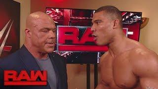 Jason Jordan disagrees with his father, Kurt Angle: Raw, Dec. 11, 2017