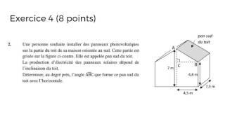 Brevet 2017 - Mathématiques - Sujet Métropole