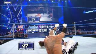 Chris Jericho Codebreaker In Mid Air-HD
