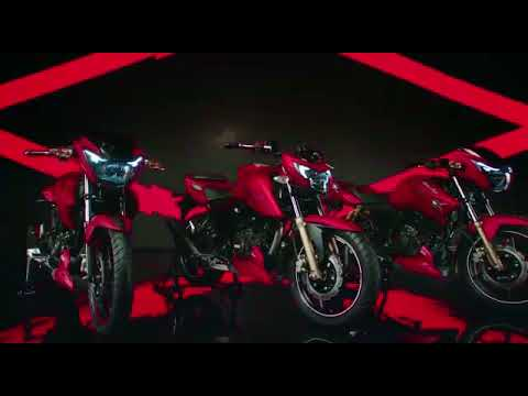 TVS Apache RTR in Matte Red - Red Hot Performance