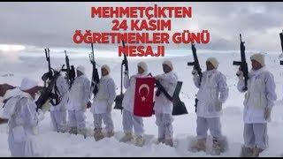 Operasyondaki Mehmetçik öğretmenleri unutmadı