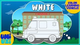 Umi Uzi | Learn Colors | Coloring With Ambulance | Colors Song | Children