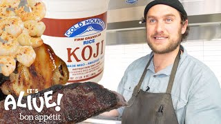 Brad Uses Moldy Rice (Koji) to Make Food Delicious | It's Alive | Bon Appétit
