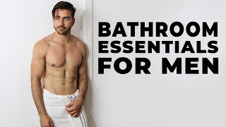 10 Bathroom Essentials Every Man Needs   Alex Costa