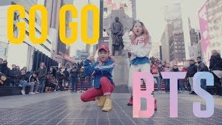 [KPOP IN PUBLIC CHALLENGE NYC] GO GO (고민보다 Go) | BTS (방탄소년단) by I LOVE DANCE KIDS