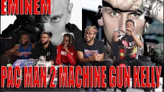 Eminem Stan bodied MGK! Pac Man 2 (Machine Gun Kelly Diss) Reaction/Review